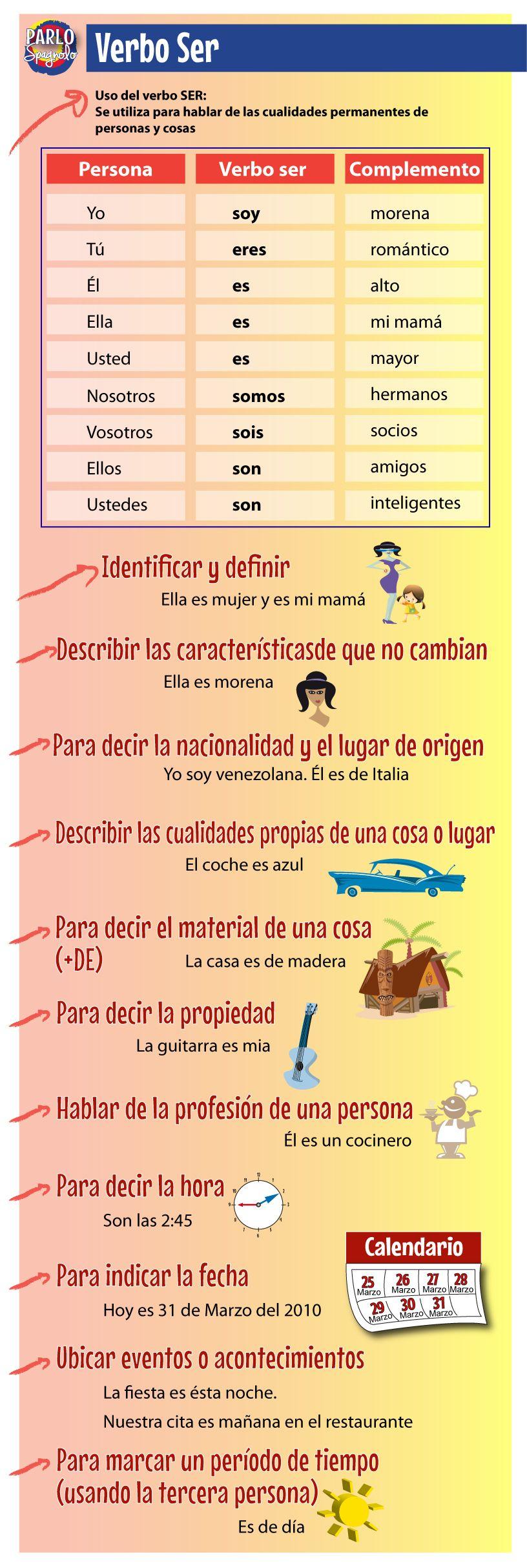Parlo Spagnolo Learning Spanish Study Spanish Teaching Spanish [ 2426 x 816 Pixel ]
