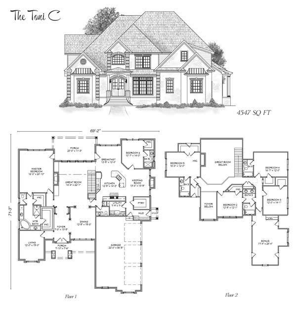 The Toni | Stoneridge Homes Huntsville, AL | Custom Home Builders ...
