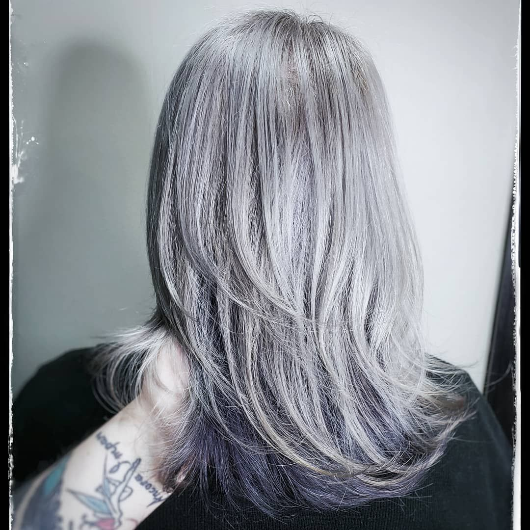 Pulpriot Silver Toner On This Second Session From Blonde To Grey