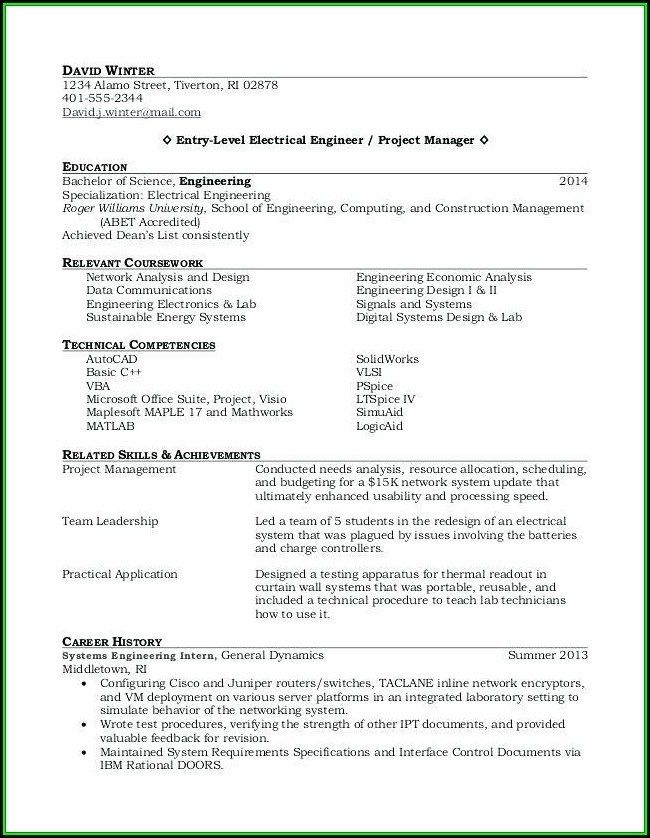 recent college graduate resume template word resume