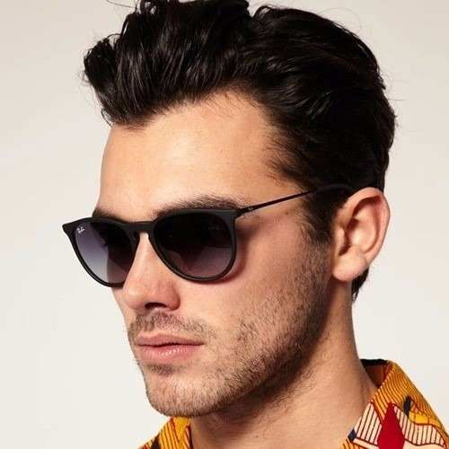 ray ban men  Ray-Ban Clubmaster Oversized Sunglasses ($175) 鉂? liked on ...