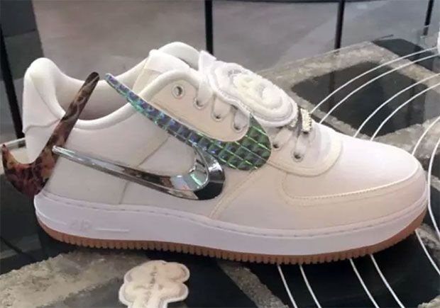 Travis Scott Previews Upcoming Nike Air Force 1 Low Collaboration