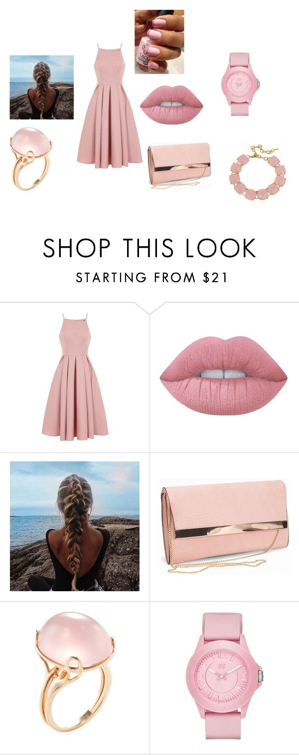 """""""Untitled #33"""" by lightingchamp on Polyvore featuring Chi Chi, Lime Crime, New Look, Goshwara, Skechers and Fornash"""