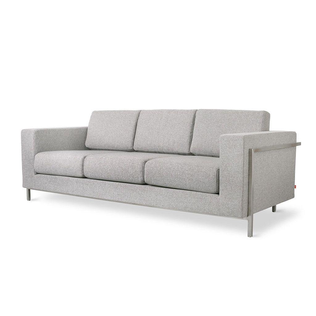 Davenport Sofa In Totem Pebble 85 5 W X 36 D 31