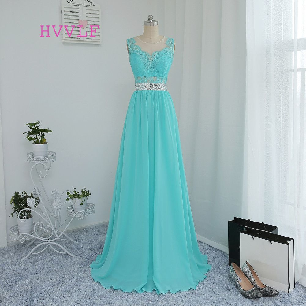 Cheap wedding dresses under 50  HVVLF  Cheap Bridesmaid Dresses Under  Aline See Through Mint