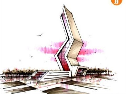 Youtube Architecture Concept Drawings Architecture Design Concept Concept Architecture