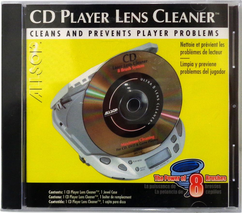 allsop cd cleaner  $12.99 - (1) Als-25719 Allsop Cd Player Lens Cleaner Micro Brushes ...