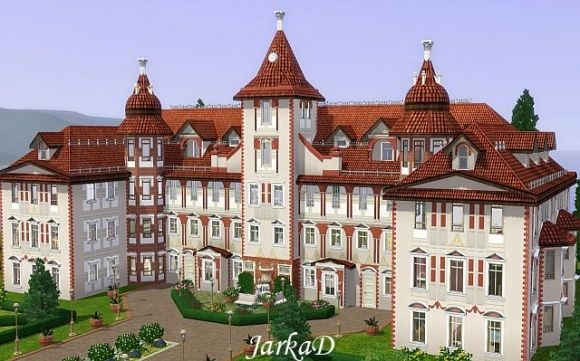 chateau hradi te castle at jarkad sims3 blog sims 3. Black Bedroom Furniture Sets. Home Design Ideas