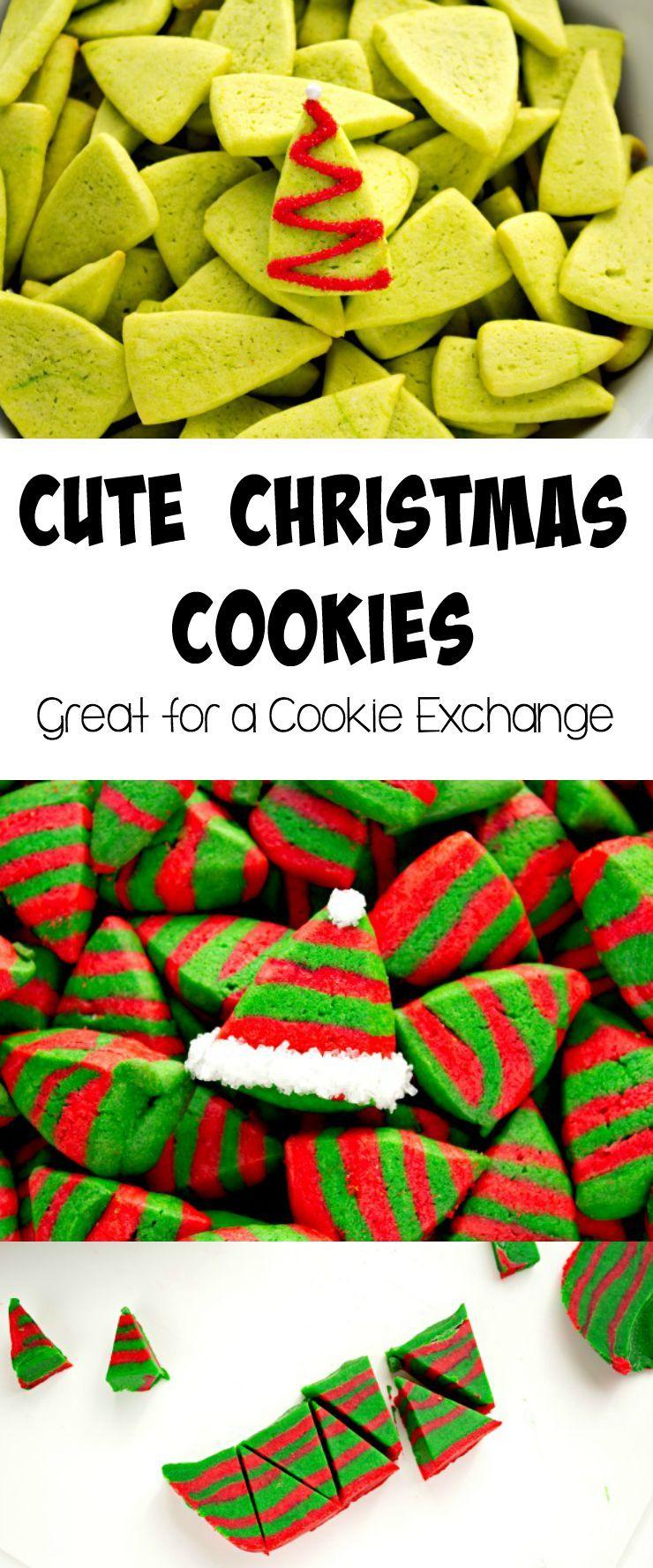 Cute Little Christmas Cookies Christmas Cookies Cookie Recipes