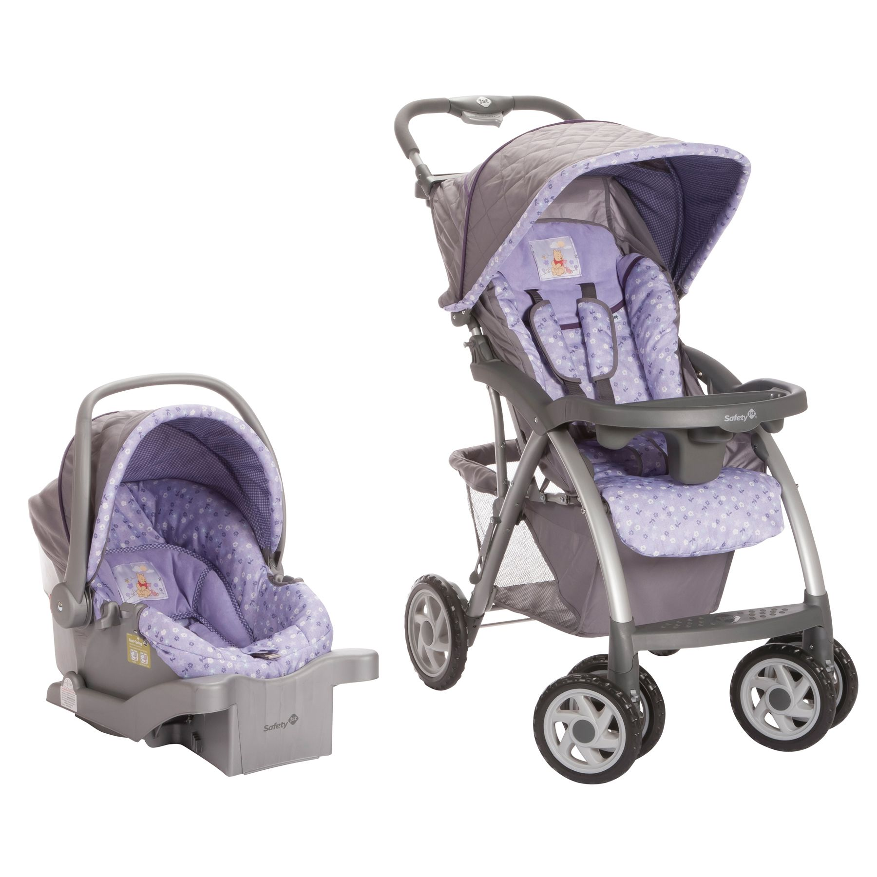 Pooh's Garden Saunter Luxe Travel System from Safety 1st