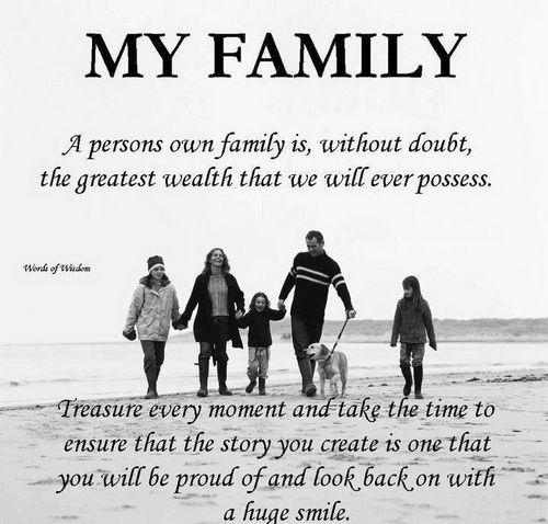 Caption For Family Love