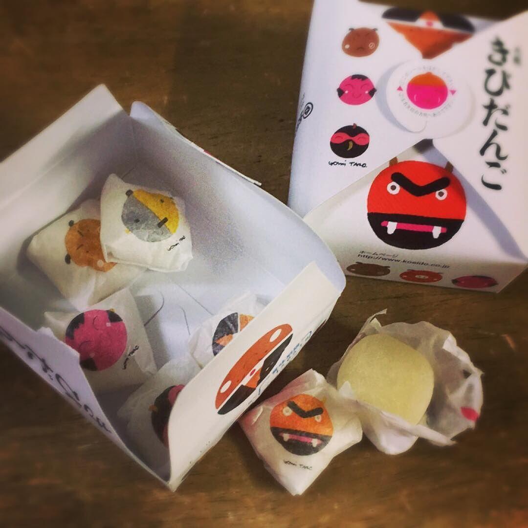 #北海道民 にとっての #きびだんご はこっちじゃ無いんだけどね(笑)  #節分 #鬼は外福は内