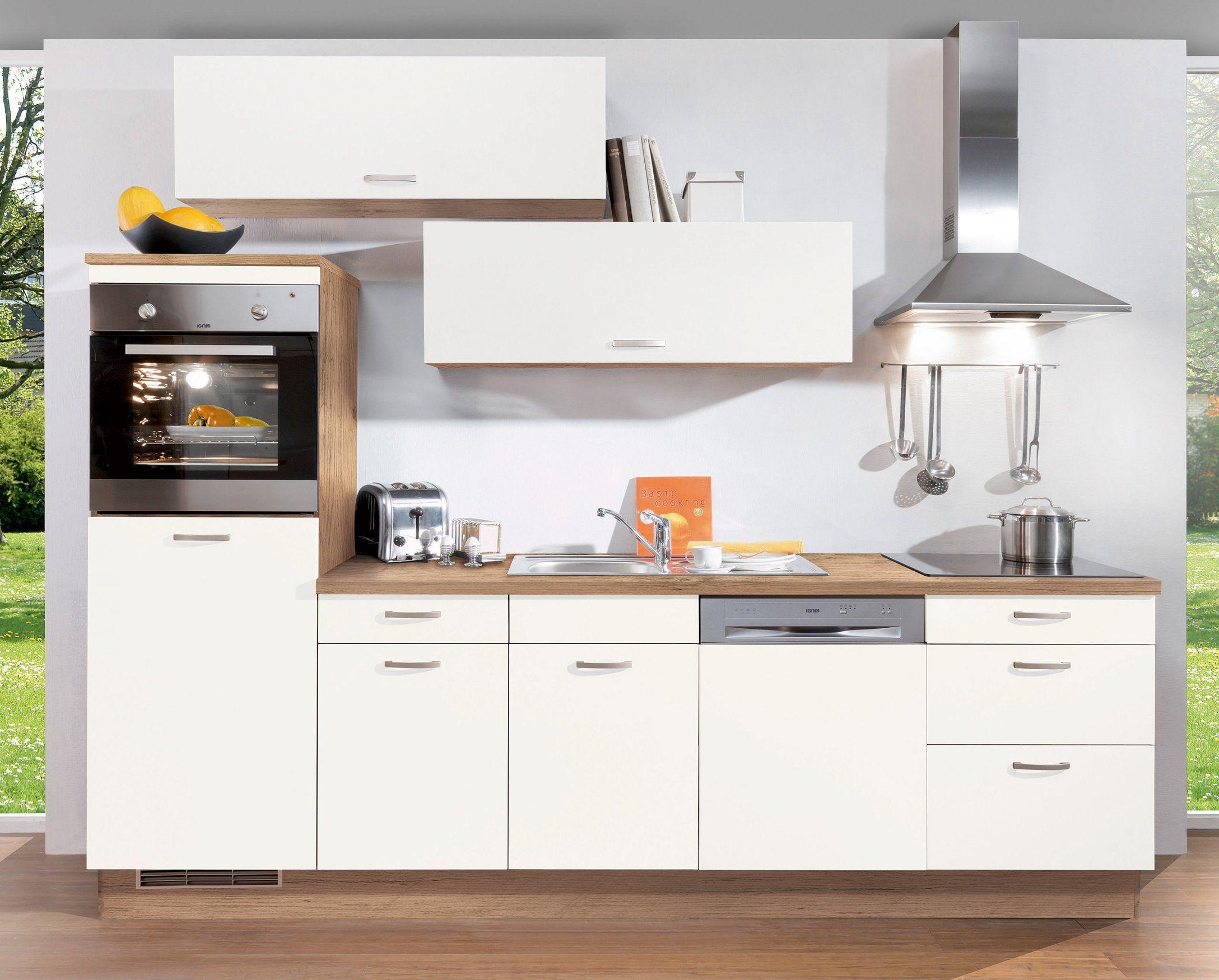 Kuchenzeile 280 Cm Mit Elektrogeraten Gunstig Unterschrank Kuche Kuche Luxus Kuchen Mobel