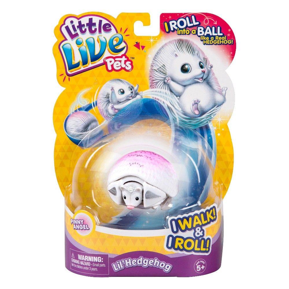 Little Live Pets Lil Hedgehog Pinny Angel Little Live Pets Hedgehog Pet Pets