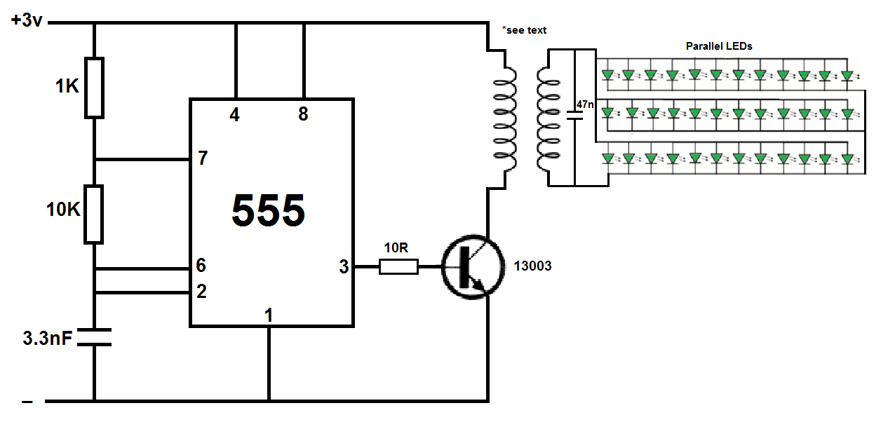 Wireless Power Transmitter Using Ic555 Elektronika Pinterest Voltage Controlled Switch The 555