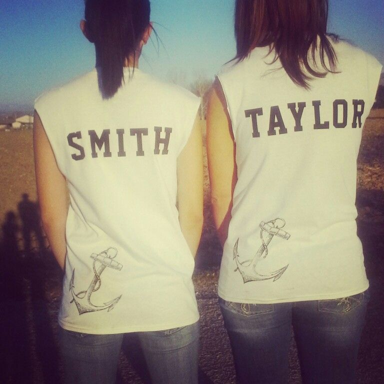 Our shirts look good #love #BFF