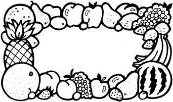 Coloriage fruit colorier dessin imprimer s quence - Fruits a colorier et a imprimer ...