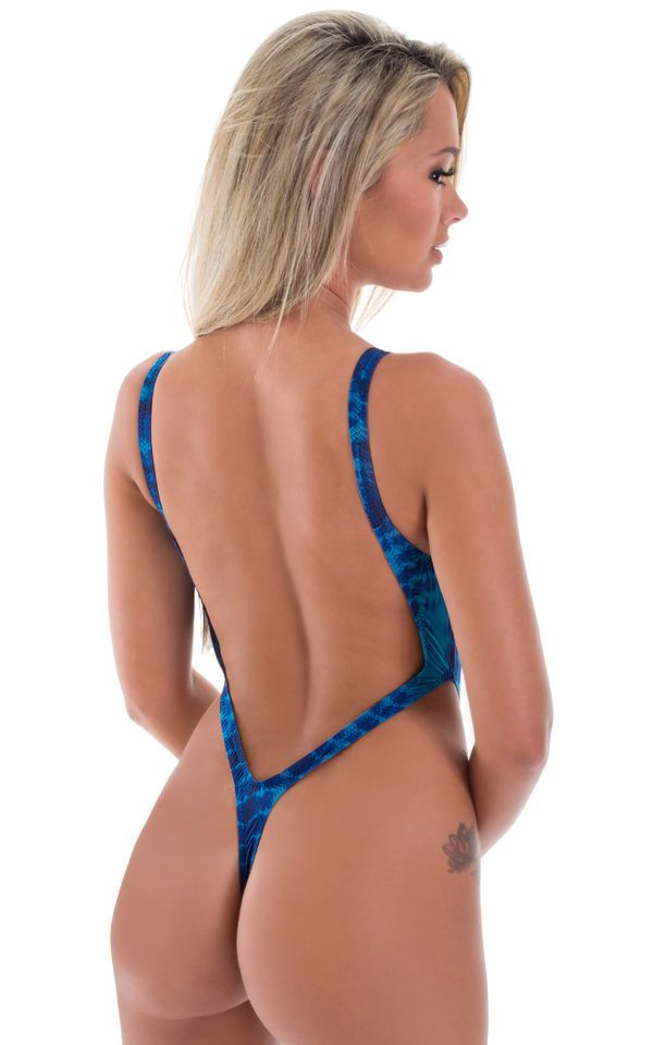 814c70a4a0 F10 - One piece thong with very high leg hole and very low thong back.