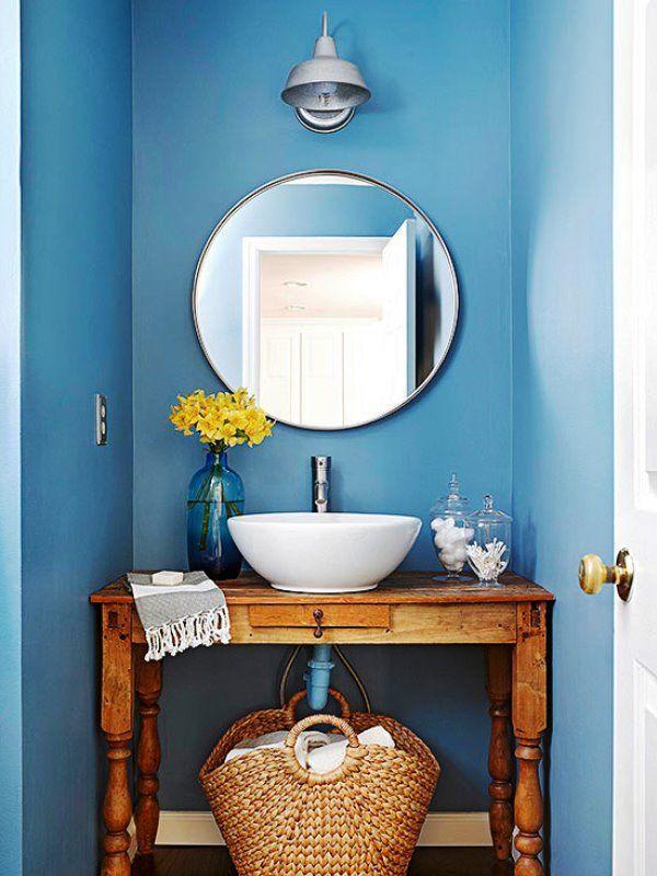 28 Ideas de decoración de baños pequeños (con imágenes ...