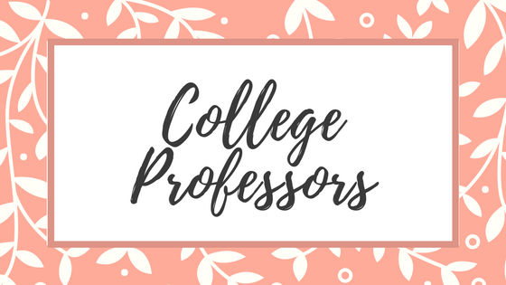A Letter To My College Professors   Lifestyle Blogs