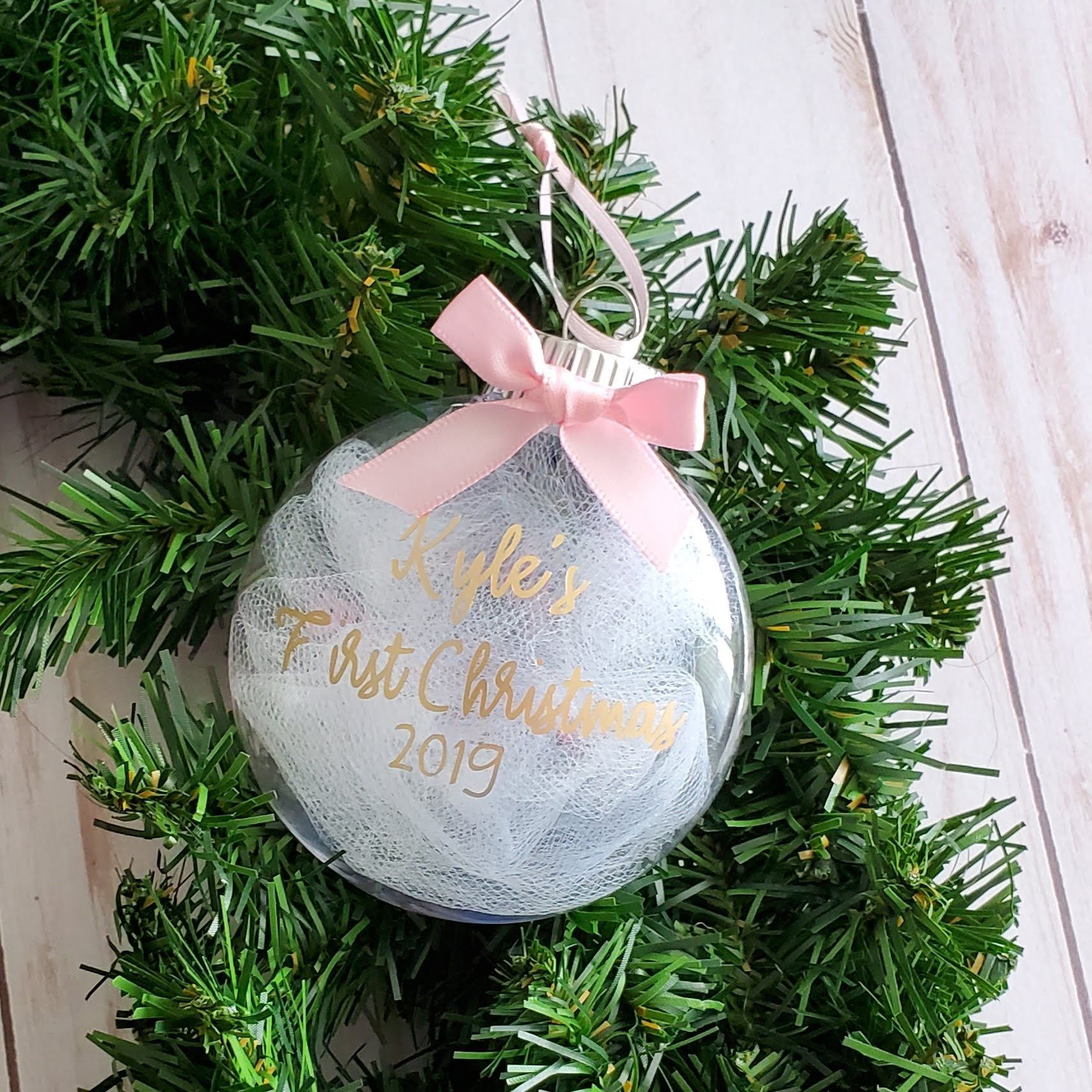 Personalized Baby First Christmas Ornament Baby First Christmas Orna Personalized Christmas Ornaments Baby First Christmas Ornament Custom Christmas Ornaments
