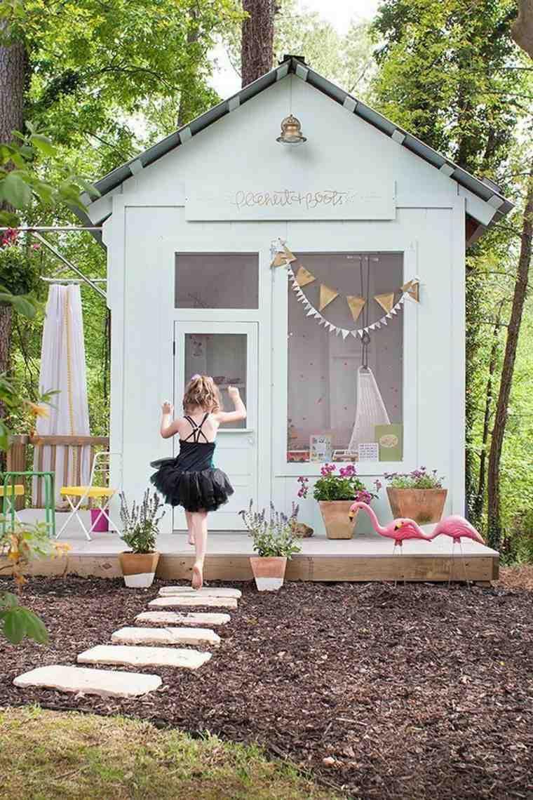 Abri De Jardin Salle De Jeux > Cabane De Jardin Enfant En 50 Projets Faire Soi M Me Cabane De