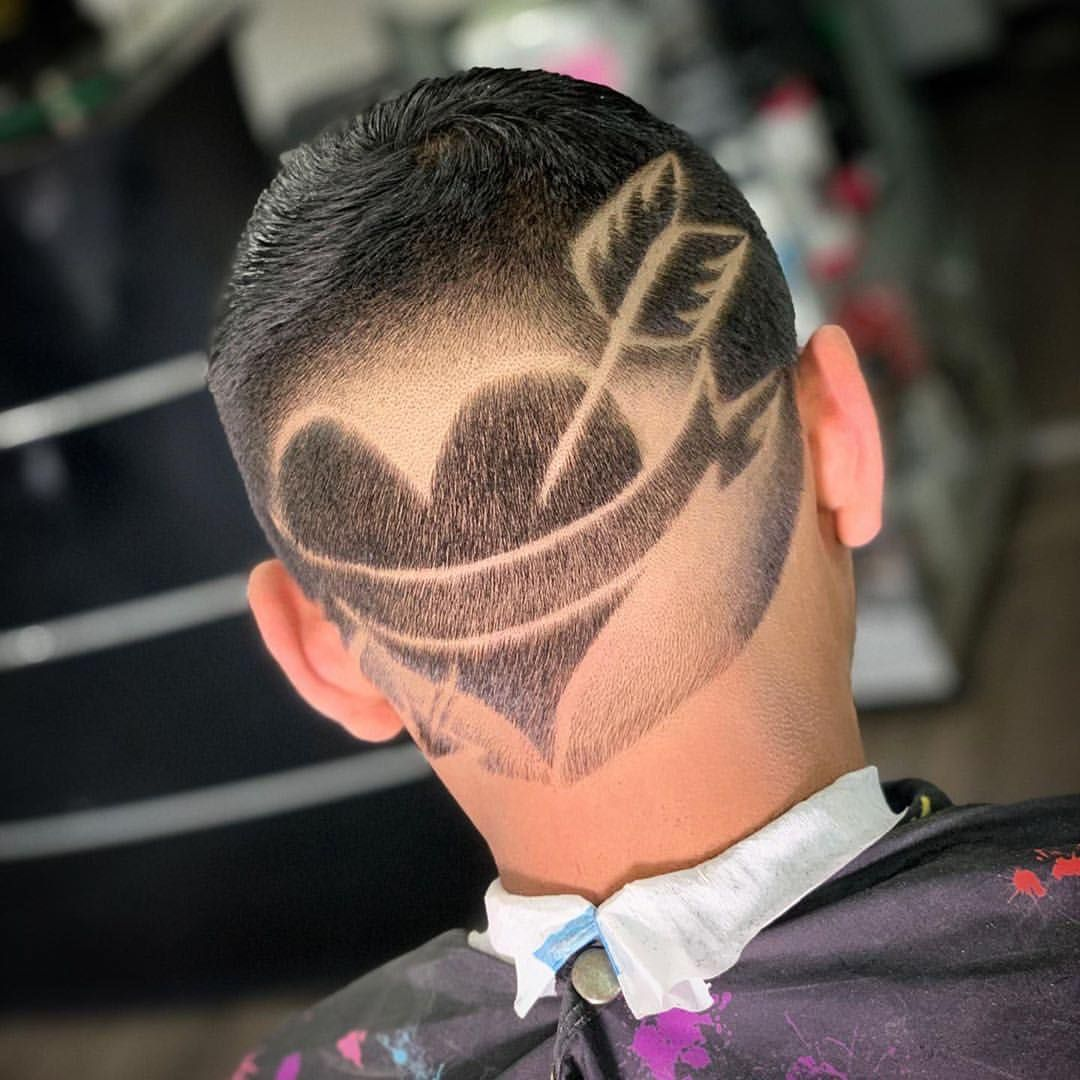 Repost Jon Blessed Me With Repostapp The Inglorious Barbers Orangecountybarbers Present The Peopl Haircut Designs Half Shaved Head Shaved Head