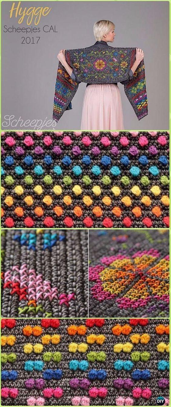 Crochet Hygge Scheepjes Scandinavian Shawl Free Pattern   Pinterest ...