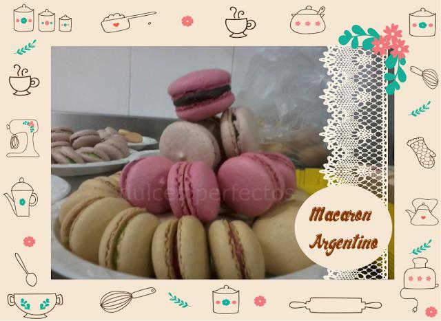 Dulces Perfectos: Macaron Argentino (hecho con harina de Maní)