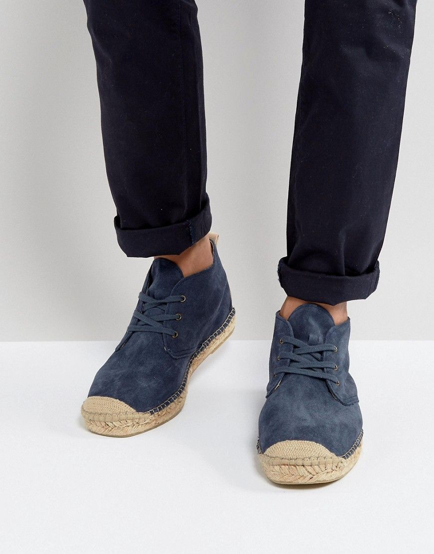 the best attitude 90dcf 42d6f Selected Homme Hajo Suede Chukka Espadrilles | Products ...