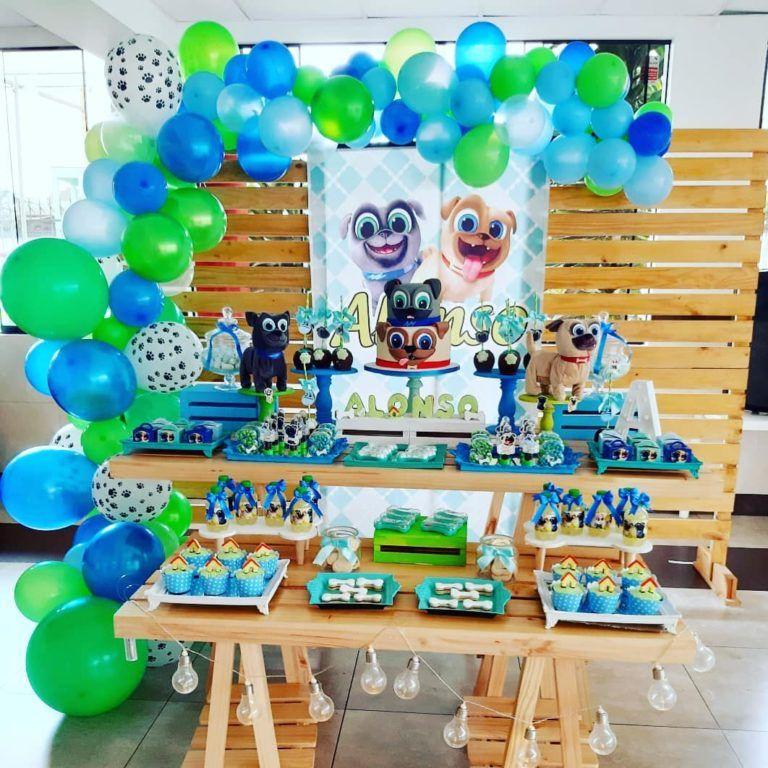 Fiesta de puppy dog pals party decoracion de pu en 2020
