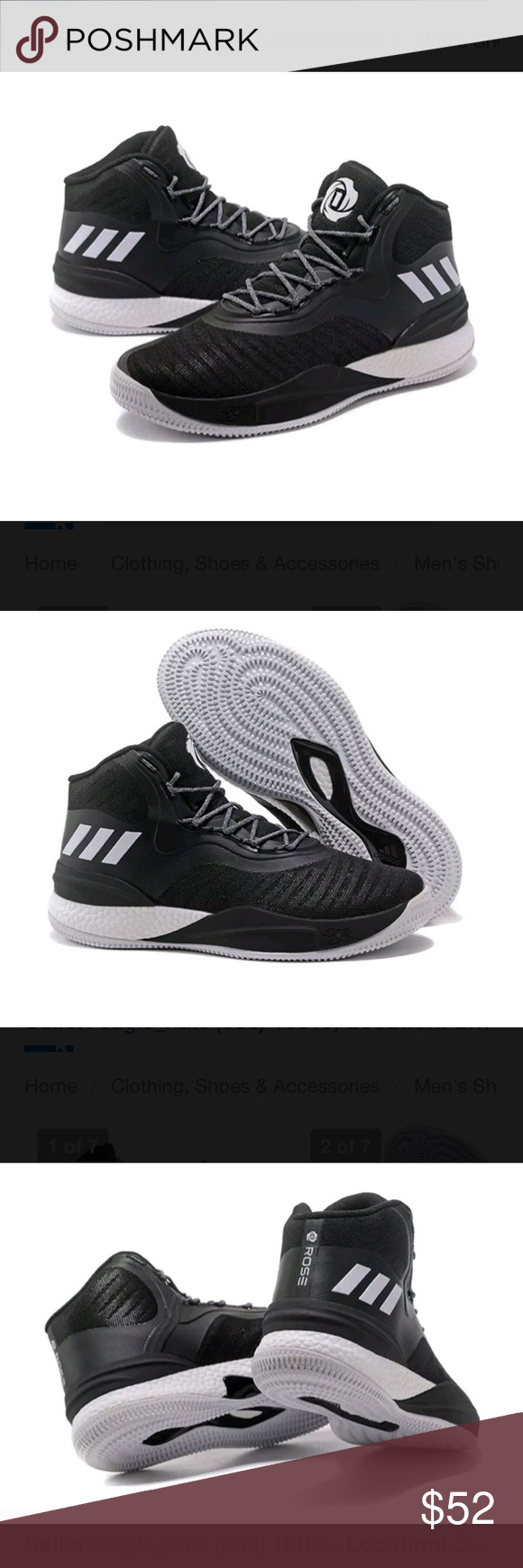 f47188503d68 Adidas SM D Rose 8 NBA NCAA Mens Basketball Shoe This is a brand new pair  of DRose Basketball shoes Mens Size 16. adidas Shoes Sneakers