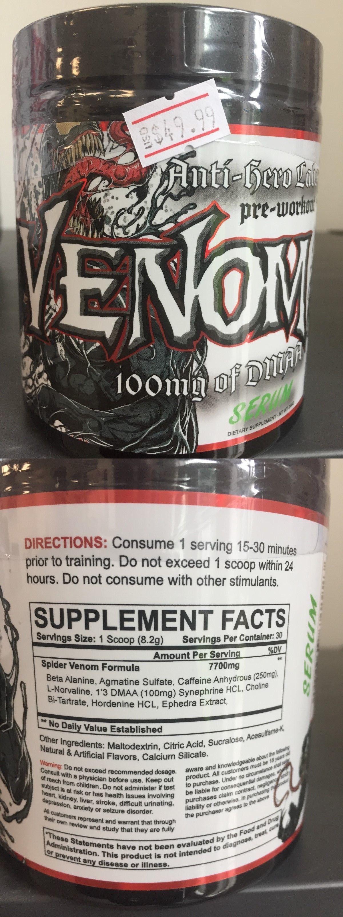 Sports Energy and Hydration 180094: Anti-Hero Venom Extreme