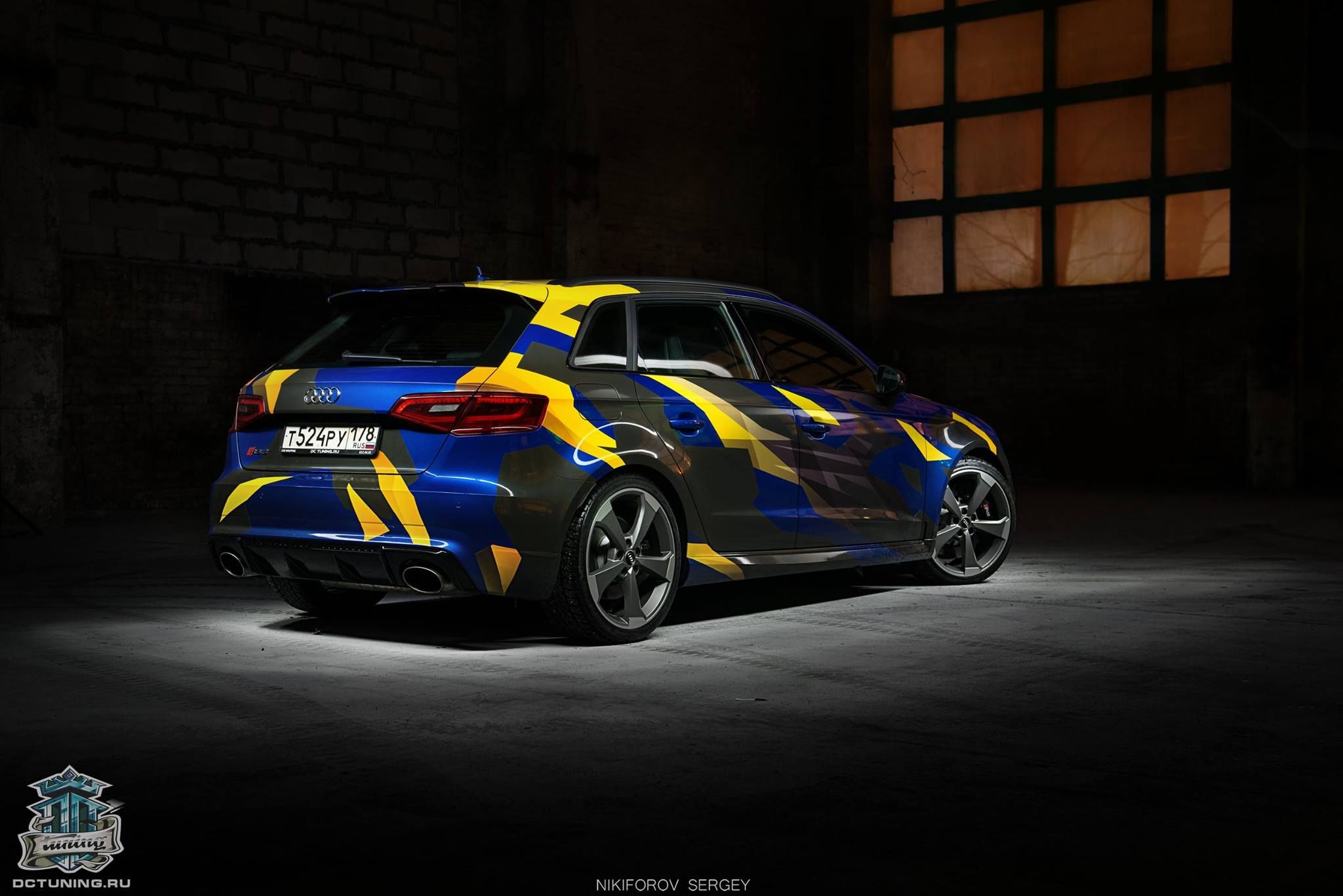 Car sticker design pinterest - Audi Rs3 Camouflage Design By Dc Tuning Cars Decalcar
