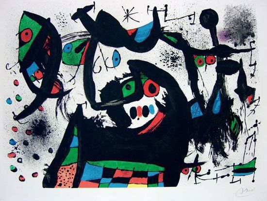 Homenaje a Joan Prats - Joan Miro  http://dld.bz/eeA4Z