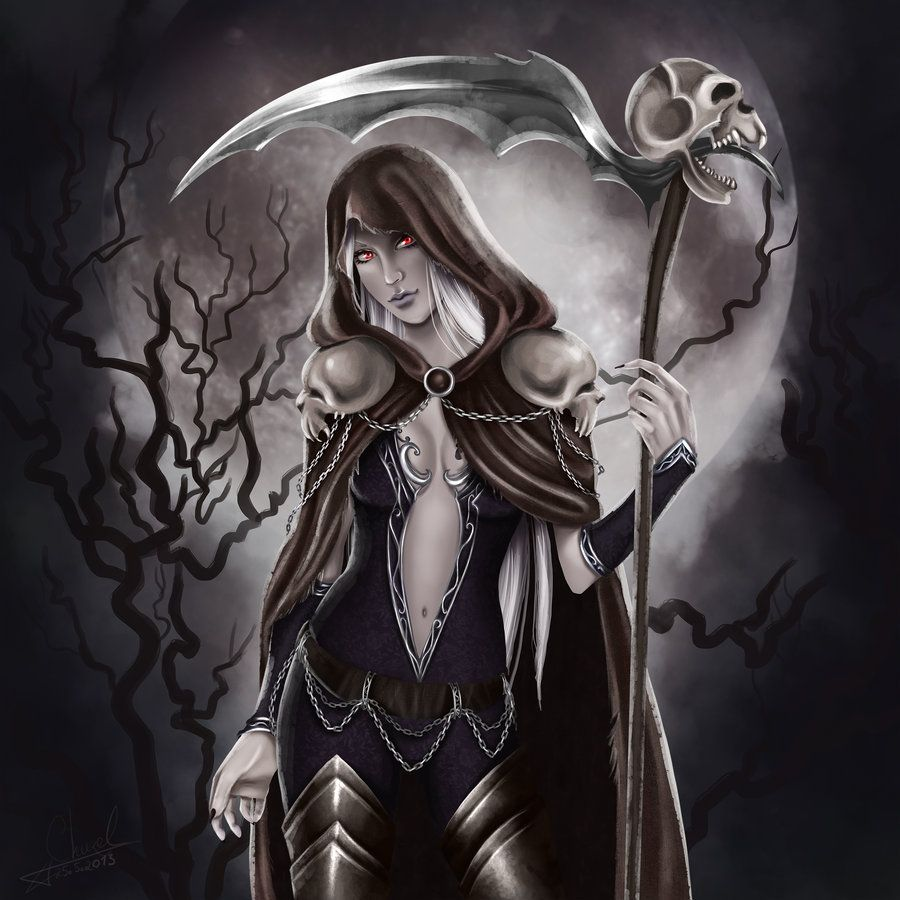 Innocent Exile By Churail On Deviantart Art Beautiful Dark Art Grim Reaper Art