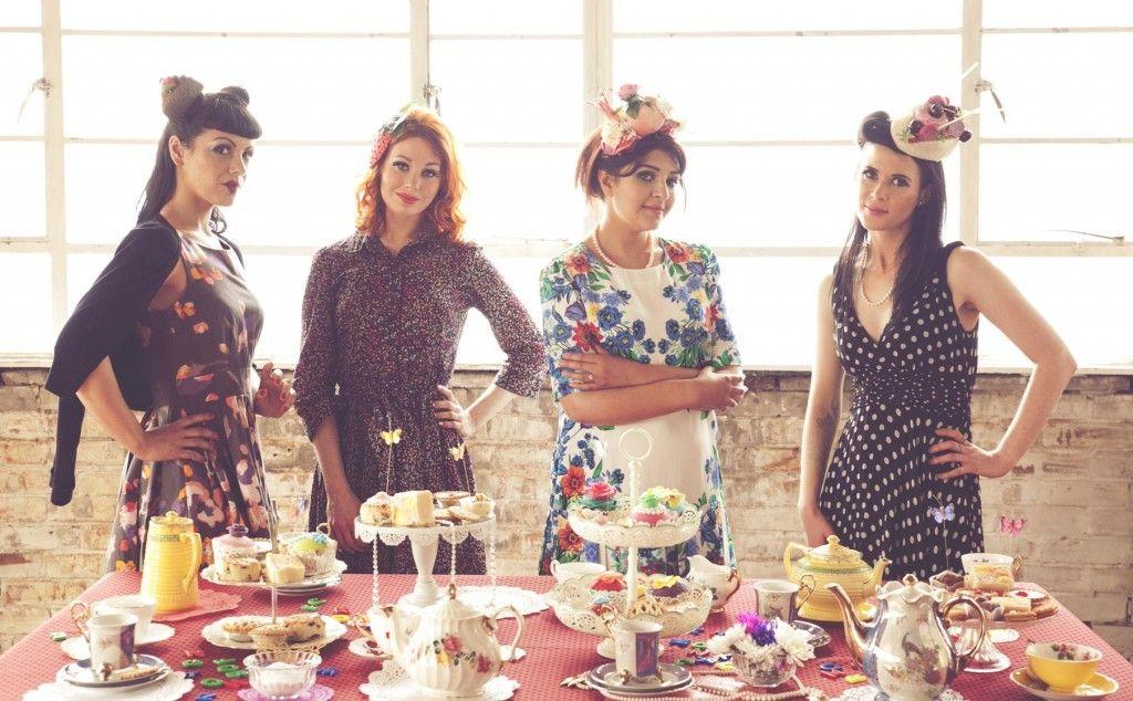 1000  images about Vintage Tea Party Attire on Pinterest - Tea ...