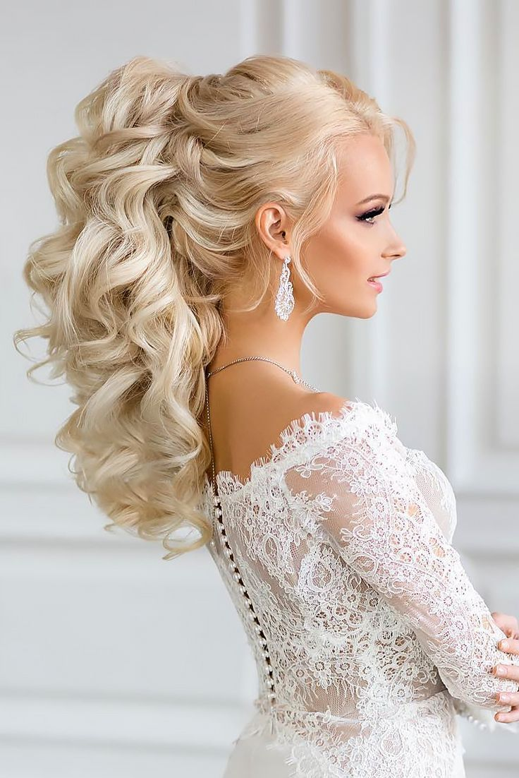 Oh so perfect curly wedding hairstyles see more httpwww beautiful wedding hairstyles for elegant brides in 2017 pouted online lifestyle magazine junglespirit Gallery