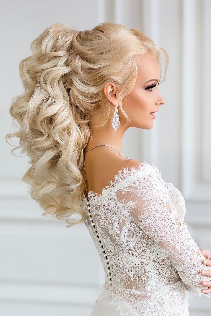 25 Most Elegant Looking Curly Wedding Hairstyles Curly Wedding