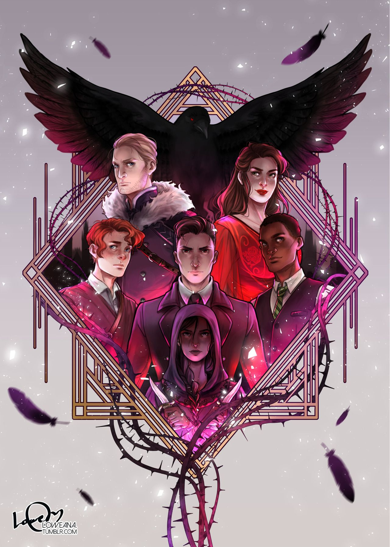 Six of Crows (Leigh Bardugo) I did it! Finally finished my Six of ...