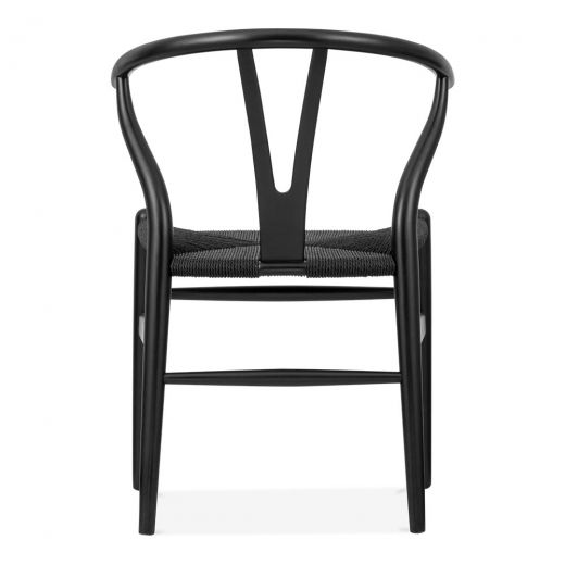 danish designs wishbone chair black black wishbone chair hans