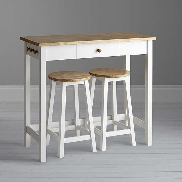 Stupendous John Lewis Partners Adler Bar Table Stools Cream In Gmtry Best Dining Table And Chair Ideas Images Gmtryco