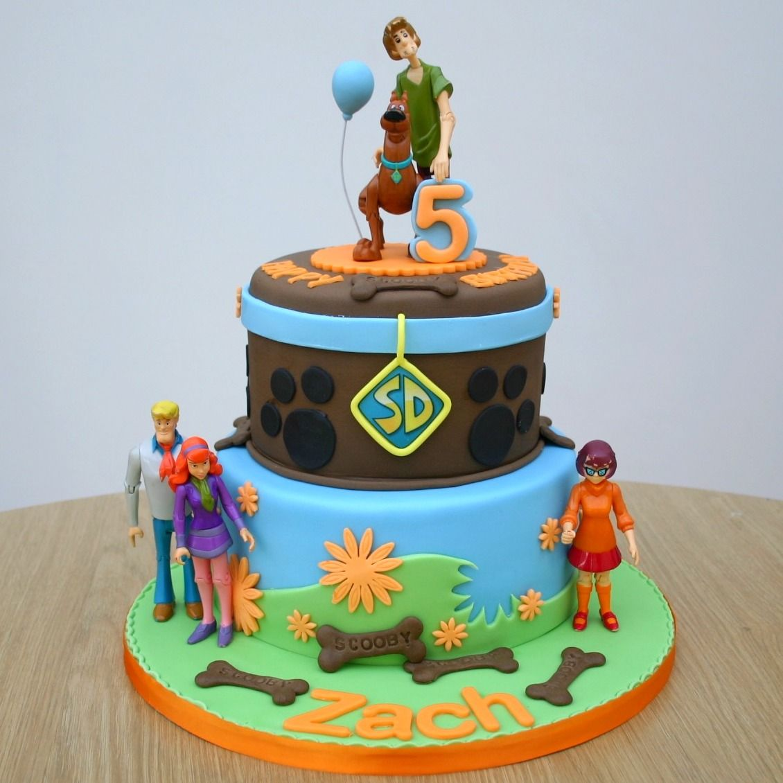 Scooby Doo Cake With Images Scooby Doo Birthday Cake Scooby