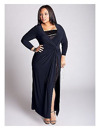 Michelle Gown In Navy Lane Bryant Evening Dresses Plus Size Plus Size Dresses Plus Size Gowns