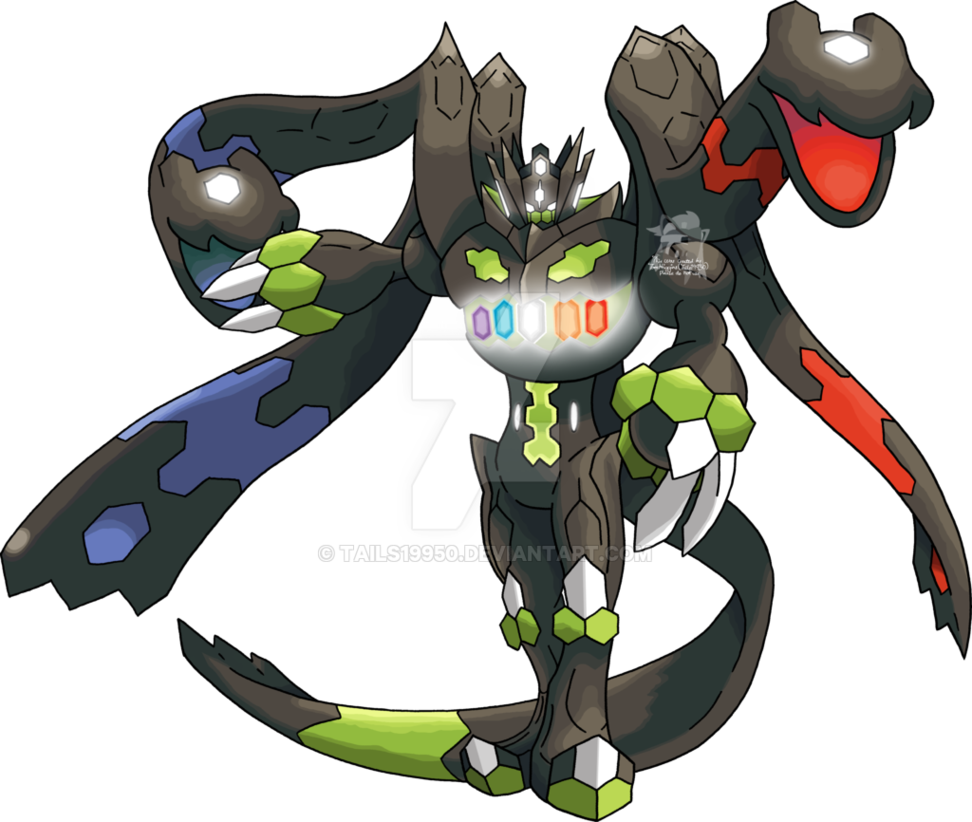 718 Zygarde Complete Forme By Tails19950 On Deviantart Pokemon