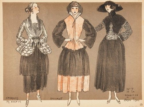 SIMEON. la Mode pour l\'Automne 1920. (Pl XXXVI) An original #print ...