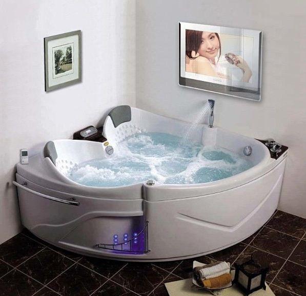 Luxus badezimmer mit whirlpool  Jacuzzi triangular | Baños | Pinterest