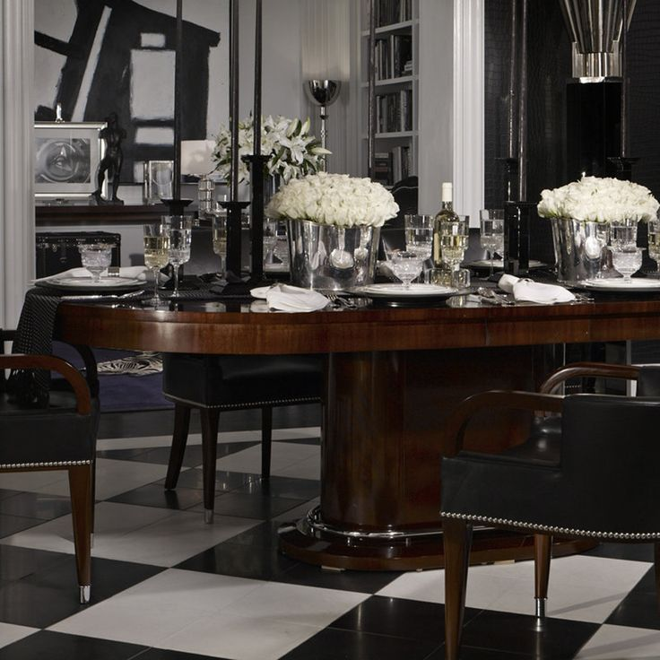 Dining Table Tables Furniture Products Ralph Lauren The Duke