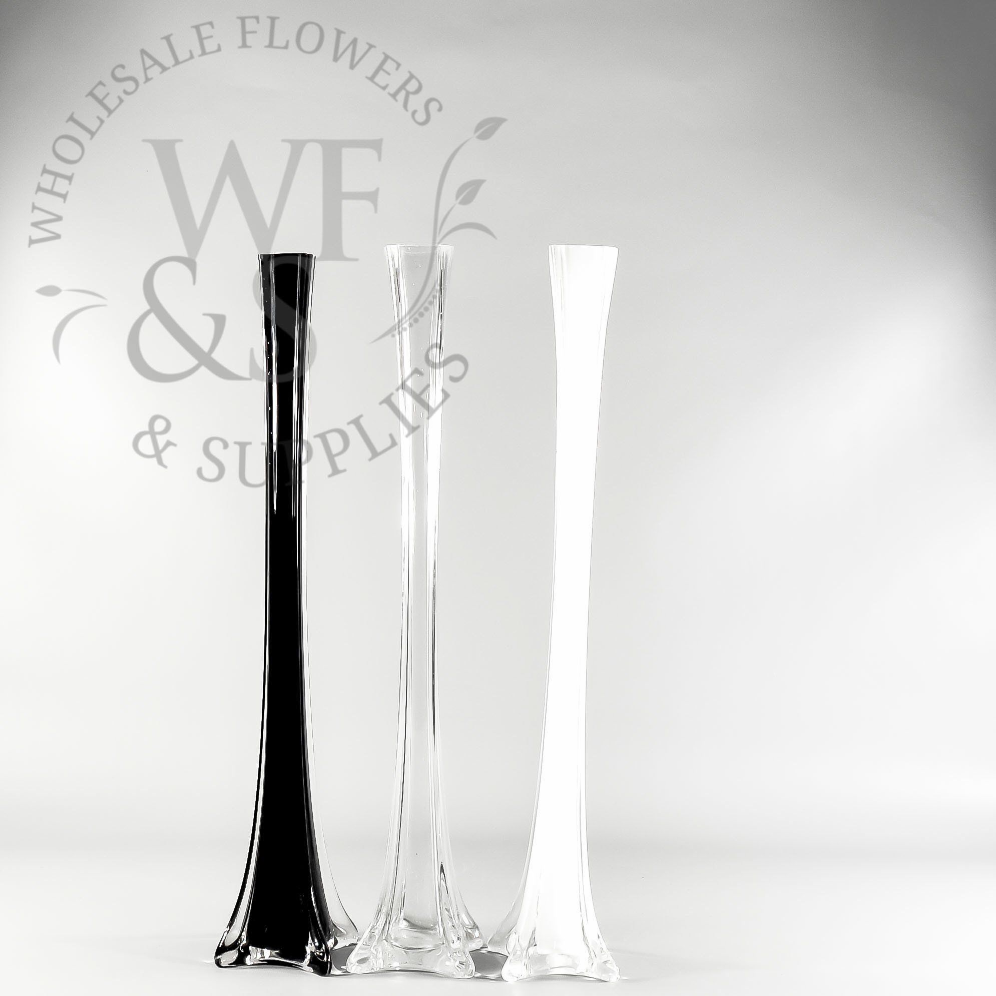Eiffel Tower Glass Vase 20in | Eiffel tower vases, Tower and ...