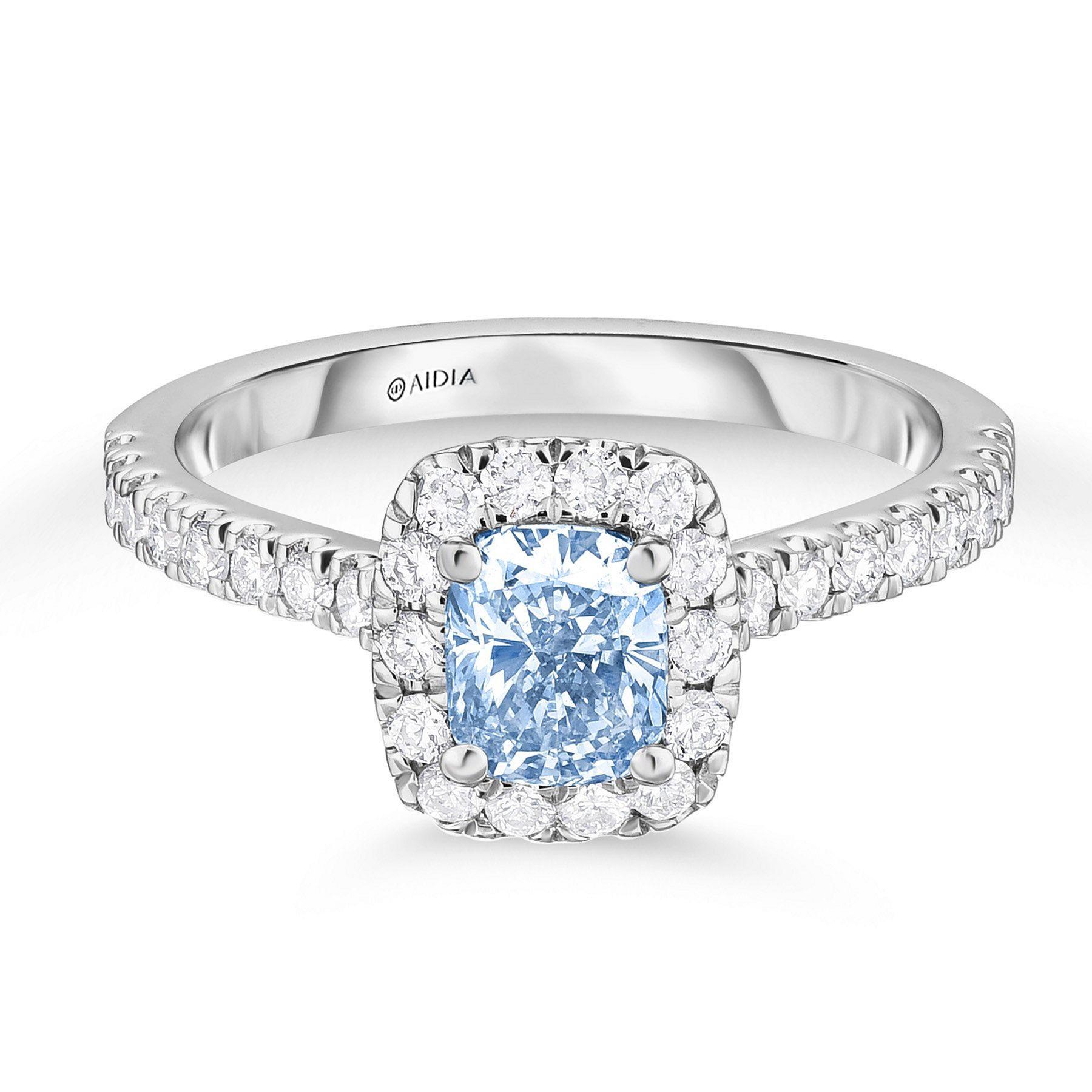 15 Amazing Blue Diamond Wedding Engagement Ring Ideas Blue Engagement Ring Blue Diamond Wedding Ring Blue Diamond Engagement Ring